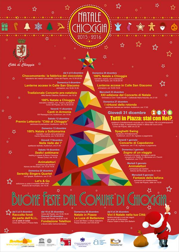 Eventi Natale.Eventi Natale Chioggia 2015 Chioggia Live