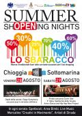 SUMMER SHOPENING NIGHTS 2015